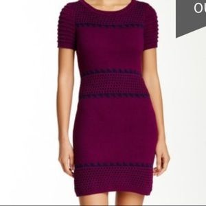 Romeo & Juliet Couture open knit sweater dress S